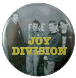 Joy Division - 'Group Standing' Button Badge